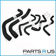 holden vt vx wh commodore v6 3 8 radiator hose pack cooling kit