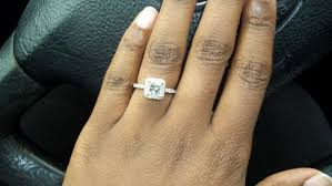 moissanite bridal reviews i need actual photos of moissanite rings i hear they are yellow
