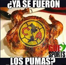 Memes Pumas Vs America - los mejores memes de la goleada de pumas al am罠rica r繪cord