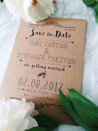 Rustic Save The Date How We Created 100 Rustic Save The Dates For 7 Steph Style