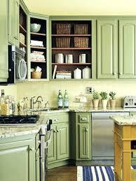 Dark Green Kitchen Cabinets Best Green Paint Color For Kitchen Cabinets Mint Green Kitchen