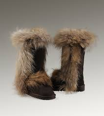 womens ugg boots fox fur this style of ugg boots is so smart for you to choose it click