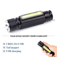 Rechargeable Work Lights by Cree Xml T6 Cob Camping Lamp Mini Zoom Led Flashlight Usb