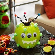 homemade halloween cake make this easy no carve adorable monster pumpkin to delight kids