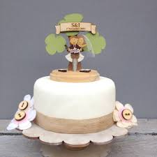 bicycle cake topper personalised bicycle wedding cake topper by just toppers