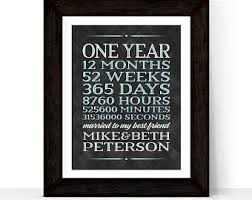 1 year anniversary gifts for him one 1 year anniversary gifts for boyfriend birthday gifts