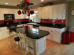 Black And White Kitchen Ideas Top 25 Best Red Kitchen Accents Ideas On Pinterest Red And