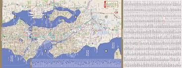 Seattle Maps Seattle Map By Vandam Seattle Streetsmart Map City Street Maps