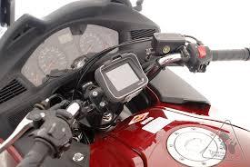 honda deauville sw motech vibration damped quick release gps holder honda nt700v