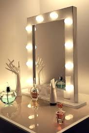 vanity hollywood lighted mirror extraordinary lighted vanity mirror oval double sided lighted mirror