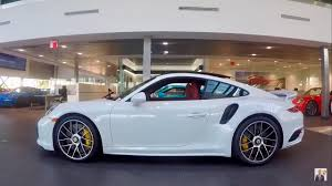 porsche 911 white 2017 carrara white porsche 911 turbo s 580 hp porsche