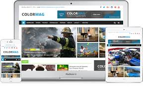cara membuat background di blog wordpress colormag free magazine style responsive wordpress theme 2018
