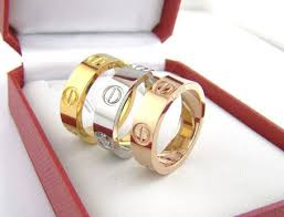 cartier rings ebay images Replica cartier love ring on the hunt jpg