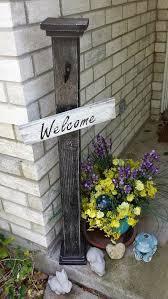 diy welcome porch post wilker do u0027s