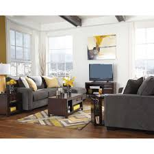 Furniture For Tv Set Marble Mestler Living Room Group 6 Pc With End Table Set And