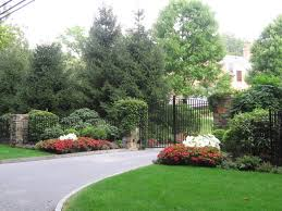driveway entrance landscaping design intended for your home