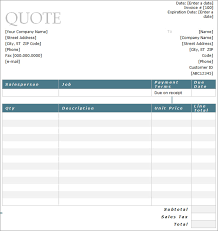 service quote template uploaded by naila arkarna quote template