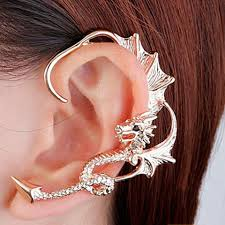 one ear earring ear cuff cheap casual style online free shipping at dresslily