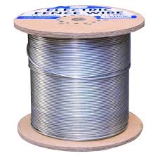 farmgard 1 4 mile 14 gauge galvanized electric fence wire 317774a