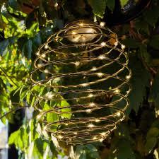 Solar Lantern String Lights by Solar Lights Lights4fun Co Uk