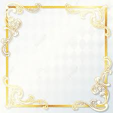 elegant white and gold wedding frame graphics are grouped and