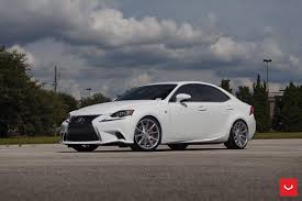 stanced 2014 lexus is250 lowered lexus is200 f sport on vossen vps301 wheels u2014 carid com