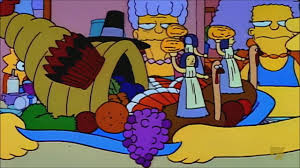 thanksgiving cartoon specials bart ruins thanksgiving the simpsons youtube