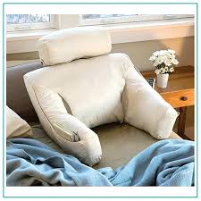 pillows for back support in bed sit up pillows back support pillow for reading in bed at walmart
