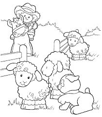 free sheep coloring pages kids coloringstar