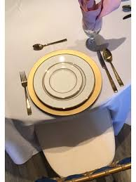 gold flatware rental gold dinner spoon rental fort wayne party rental and wedding rental