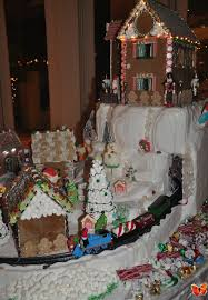 gingerbread christmas village full service catering and event