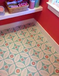 Peel And Stick Kitchen Floor Tiles - flower folk peel u0026 stick decorative decals folk squares and laundry