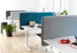White Office Desks Desktop Dividing Screens Desk Partitions Desk Dividers