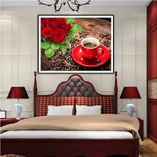 Diamond Home Decor Sticker Burrs Picture More Detailed Picture About 5d Flower