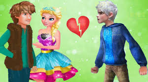 princess elsa leave jack frost disney frozen love problems game