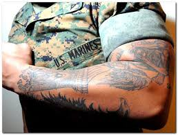 tattoo removal for military tattoo collection