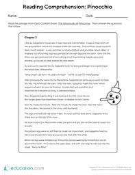 reading worksheets u0026 printables education com
