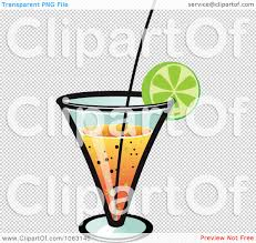 birthday martini clipart clipart orange cocktail royalty free vector illustration by