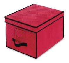 3 tier ornament storage container snap n stack square seasonal