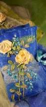 ribbon embroidery flower garden the art of felting and silk ribbon embroidery di van niekerk