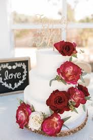 red wedding cake photos red wedding cake pictures weddingwire com