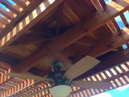 Pergola Ceiling Fan by Poolside Arbor Pergola In Madill Hundt Patio Covers