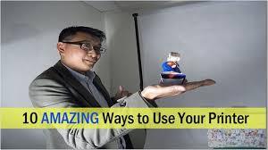 10 creative ways to use your printer