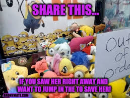 Care Bear Meme - 1188916 care bears claw machine despicable me fluttershy irl