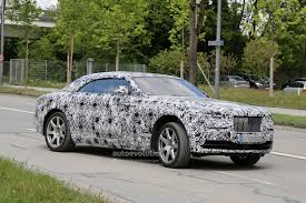 bentley wraith convertible rolls royce wraith drophead coupe spied for the first time