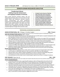 Hr Resume Templates Human Resources Resume Examples Resume Peppapp