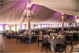 wedding halls in michigan purple and grey wedding reception inside the meadow brook tent