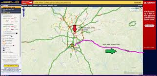 511 Traffic Map Traffic Detours How To Navigate Atlanta To Get To The Masters
