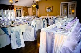 White Banquet Chair Covers White Banquet Chair Covers Periwinkle Satin Chair Sashes U0026 Table