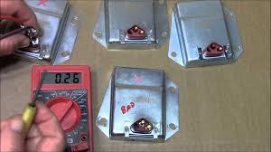 how to test the c8313 voltage regulator use on chrysler dodge